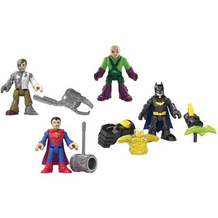Fisher-Price Imaginext DC Super Friends DC Super Heroes & Villains PlaysetFigure pack includes Batman figure with Thunder Punch fist, projectile launcher with 2.., By FisherPrice - Batman Female Villains