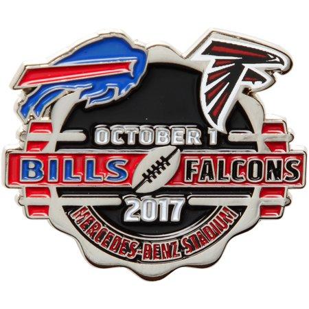 Atlanta Falcons vs. Buffalo Bills WinCraft 2017 Matchup Game Pin - No (Chicago Bears Vs Atlanta Falcons Live Stream)