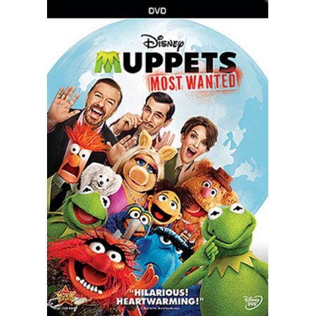 Muppets Most Wanted (DVD)](Muppets Halloween Dvd)