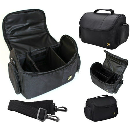 Pro Deluxe Large Carrying Bag Camera Case for Canon EOS RP M100 Rebel SL3 Pro Camera Bags
