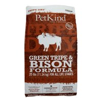 PetKind Green Tripe & Bison All Life Stages Dry Dog Food, 25 Lb