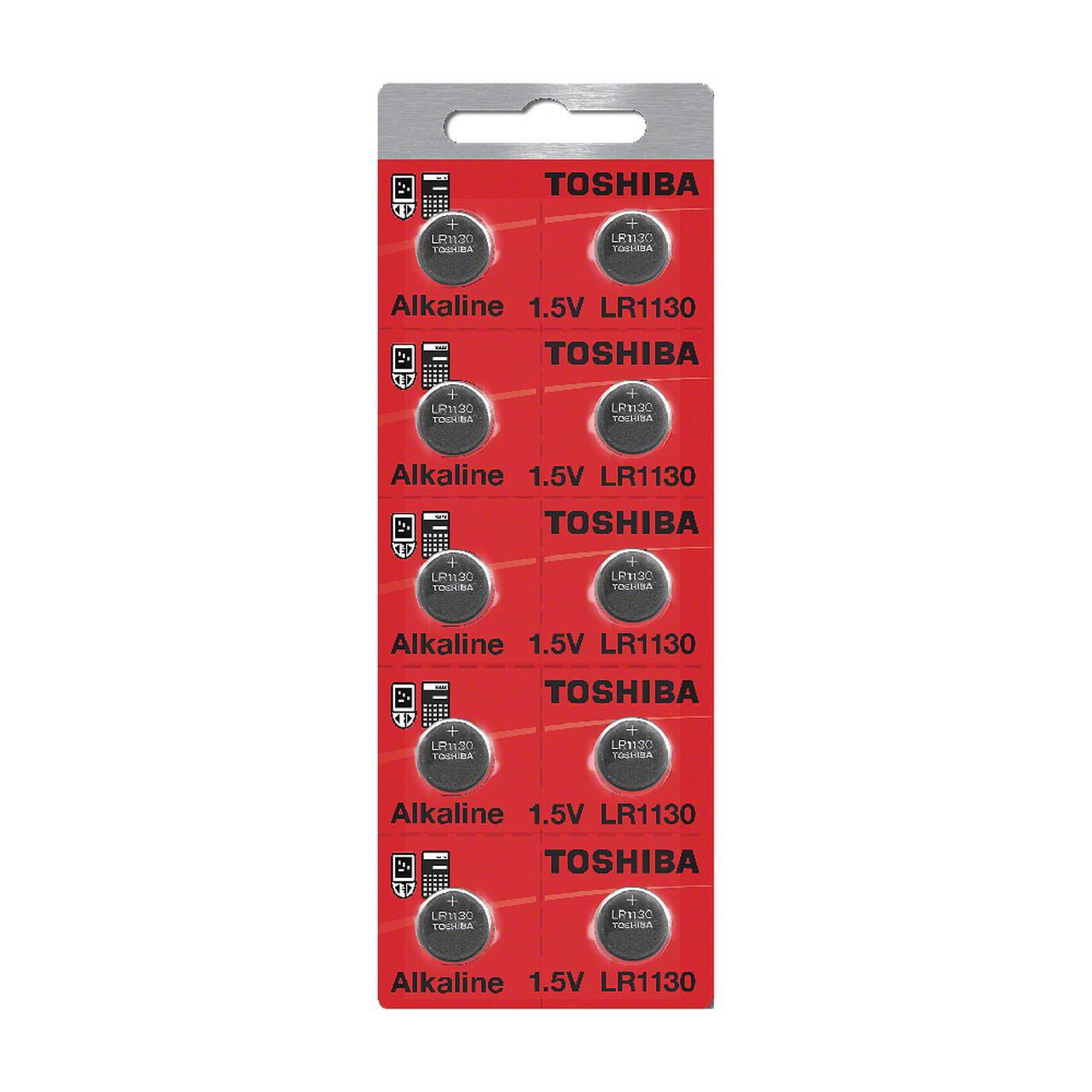 Toshiba 1130 189 Alkaline 1.5 Volt Batteries Wholesale 10...