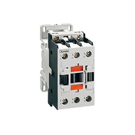 Lovato Electric BF3200D024 Three-Pole Contactor, Iec Operating Current Ie (Ac3) = 32A, Dc Coil,