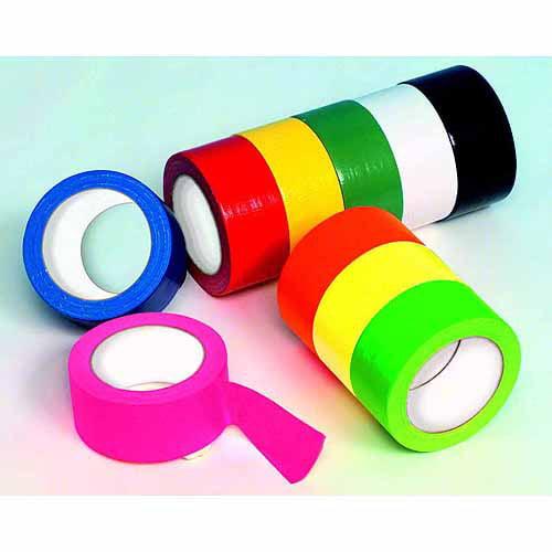 "Duck Tape General Purpose Waterproof Self-Adhesive Colored Duct Tape, 1.875"" x 20 yd, Black"