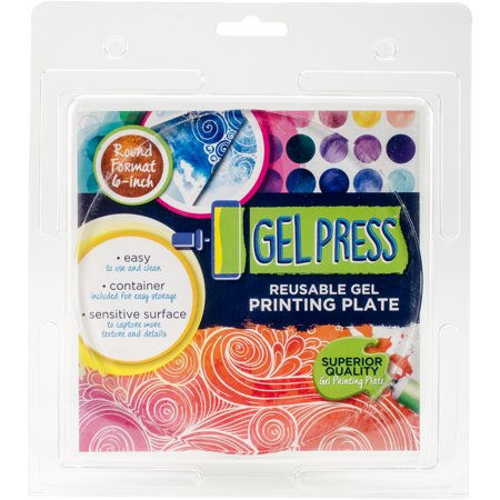 Polygel Gel Plate  6   Circle