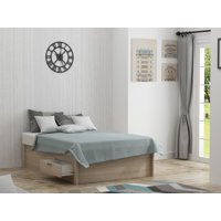Mainstays Madison Collection Platform Bed with Storage, Multiple Sizes and Finishes