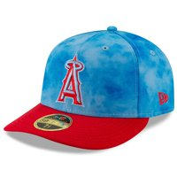 Los Angeles Angels New Era 2019 Father's Day On-Field Low Profile 59FIFTY Fitted Hat - Blue/Red