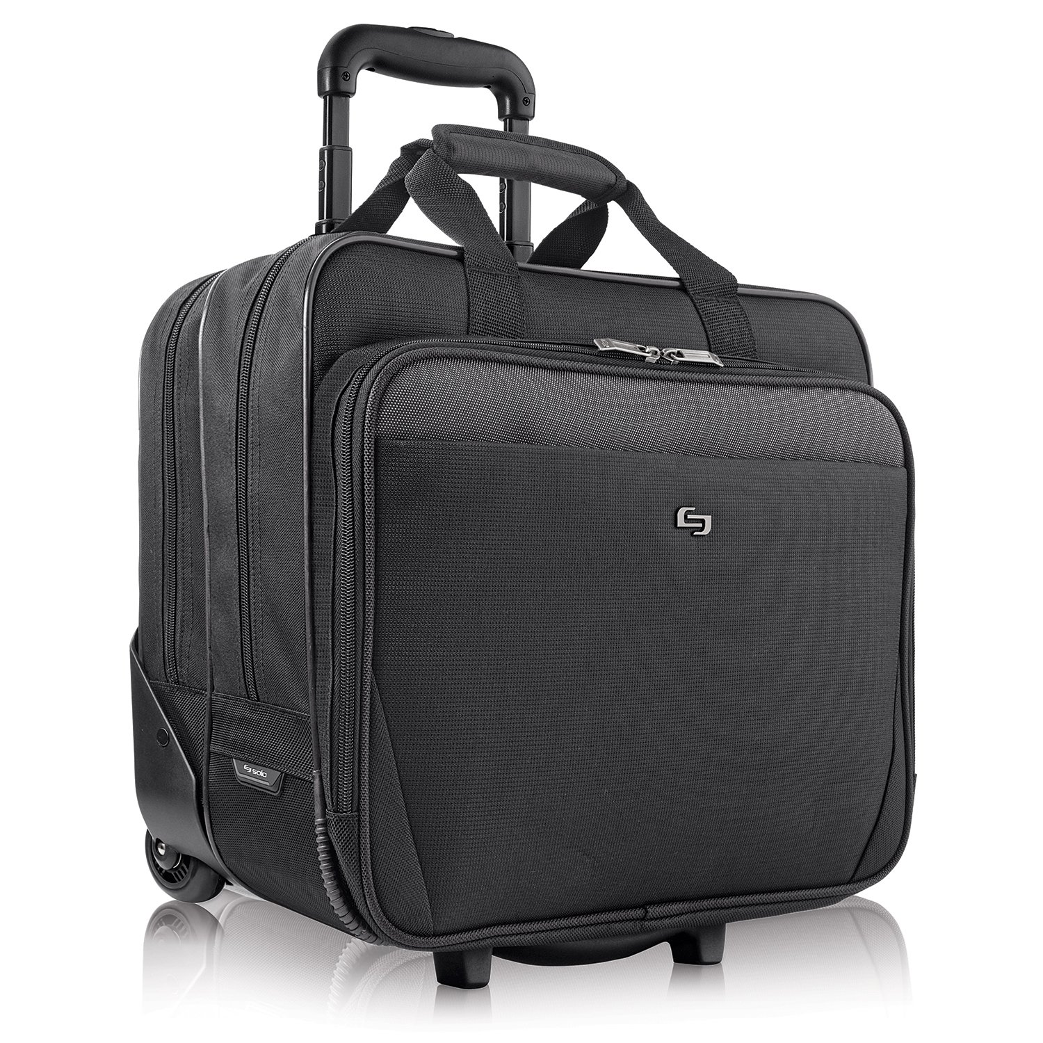 "Us Luggage Solo Classic Carrying Case [roller] For 17.3"" ..."