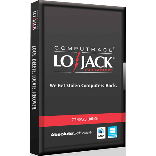 Absolute Software Lojack for Laptops Standard Edition, 2-Year License (Windows/Mac) (Digital Code)