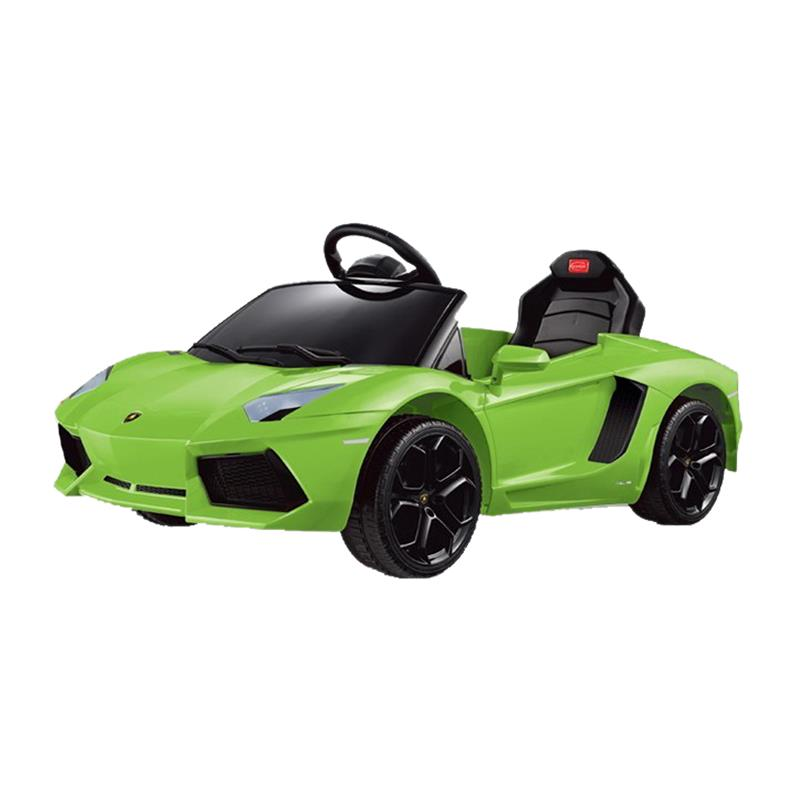 Lamborghini Electric Car For Kids >> Lamborghini Aventador 6v Kids Electric Ride On Toy Car w/ Parent Remote Control - Green ...