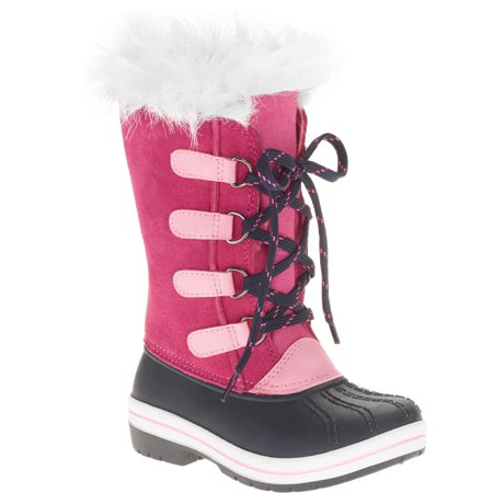 Image of Ozark Trail Toddler Girls' Tall Lace-Up Winter Boot