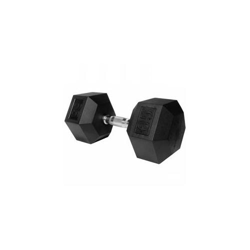XMark 65 lb.  Rubber Hex Dumbbell XM-3301-65