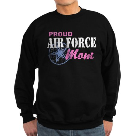 CafePress - Proud Air Force Mom - Classic Crew Neck Sweatshirt