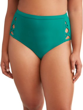 Women's Plus Solid Cabo Swimsuit Bottom
