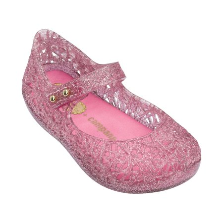 Mini Melissa Girls Campana Zig Zag V Mary Jane