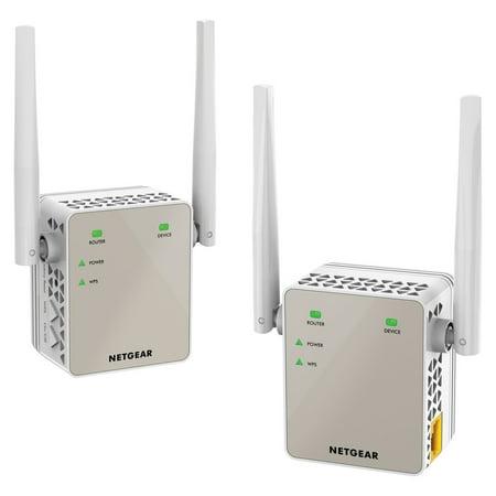 NETGEAR AC1200 Plug-In Wi-Fi Range Extender 2 Pack
