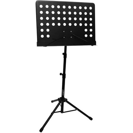 Sheet Music Display - ChromaCast Heavy Duty Pro Series Adjustable Sheet Conductor Music Stand