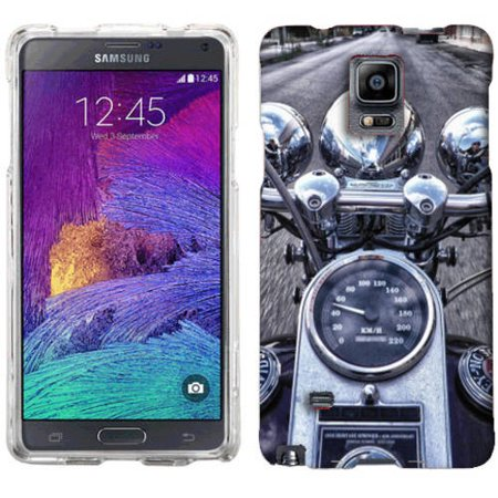 Mundaze Motorcycle Ride Phone Case Cover for Samsung Galaxy Note 4 ()