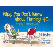 What You Don't Know About Turning 40 : A Funny Birthday Quiz