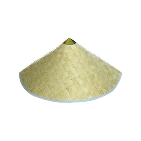 Adult Woven Costume Accessory Coolie Conical Chinese Hat