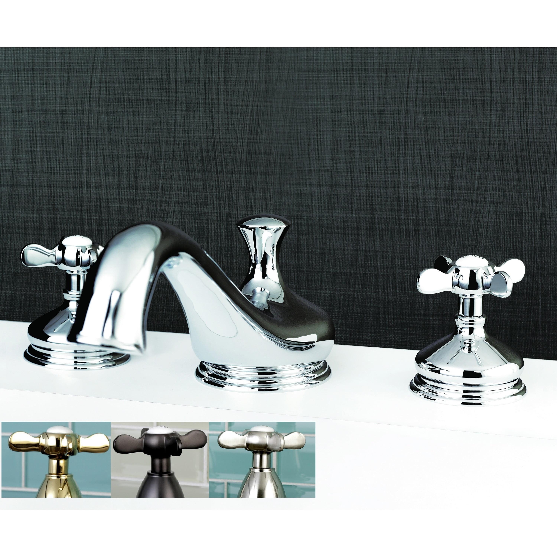 Kingston Brass Vintage Cross-Handle Roman Tub Bathroom Faucet ...