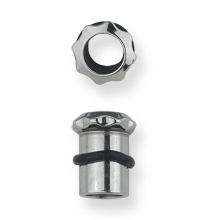 - Stainless Stl Plugs & Flesh Tunnels Hardware Theme 2G (6.543mm) Eight Tooth