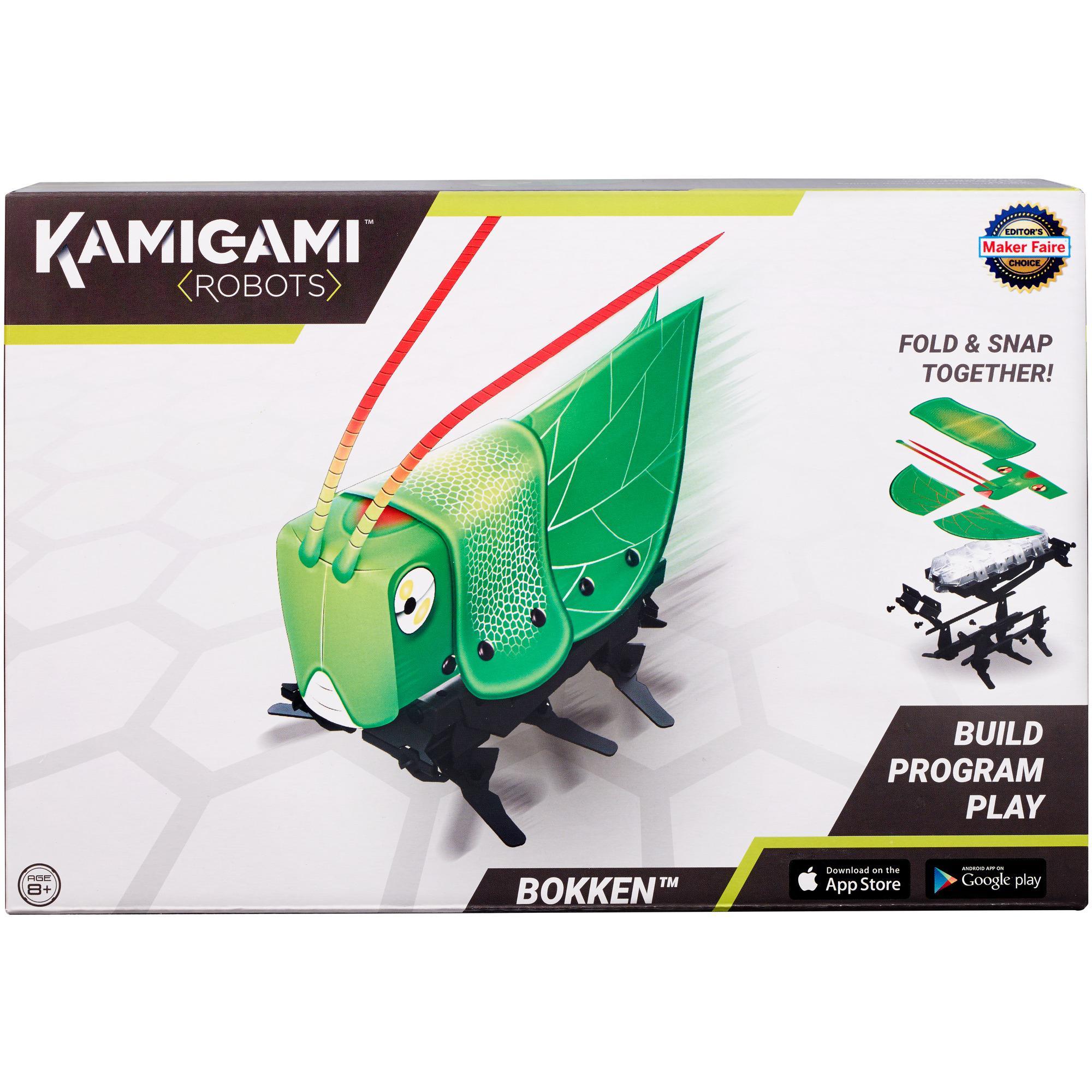 Kamigami Bokken Grasshopper Build Program Play Engineering STEM Robot