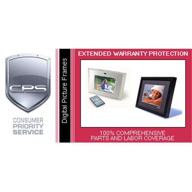 Consumer Priority Service DPF2-2500 2 Year Digital Picture Frame under $2 500.00