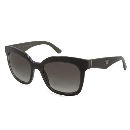 Prada PR24QS-UAM0A7 Triangle Women's Brown Frame Grey Lens Genuine