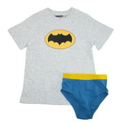 DC Comics Boy's Shirt/Underwear Underoos Set