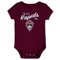 Colorado Rapids Newborn & Infant My New First Bodysuit - Burgundy