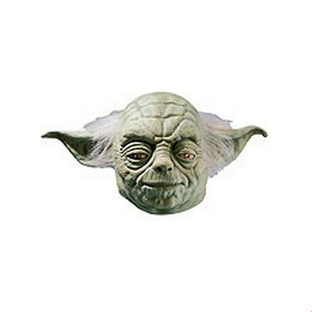 Star Wars Yoda 3/4 Vinyl Mask Halloween Costume Accessory