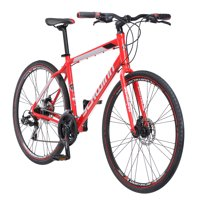 Schwinn Kempo Hybrid Bike, 700c wheels, 21 speeds, mens frame, red