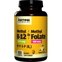Vitamins & Supplements: Jarrow Formulas Methyl B12 & Methyl Folate