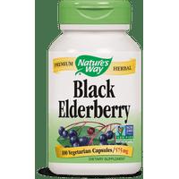 Natures Way Elderberry, Berries & Flowers, 575 mg, Capsules