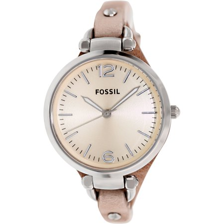 Fossil Set Wrist Watch - Fossil Women's Georgia Watch Quartz Mineral Crystal ES2830