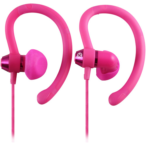 Moki 90-Degree Sports Earphones, Assorted Colors