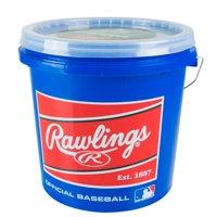 (24 Pack) Rawlings Bucket of Official Little League R12U Recreational Use Baseballs