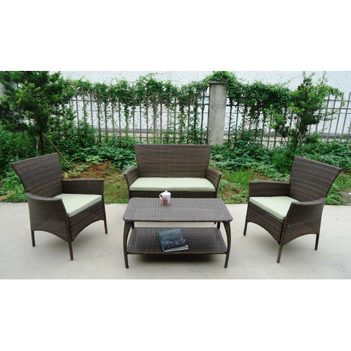 Winport Industries North Hampton 4 Piece Sofa Set with Cushions