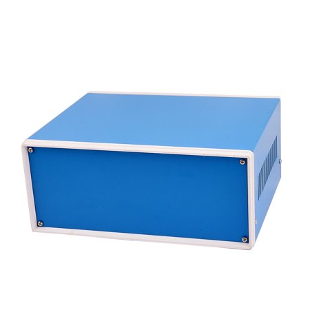 Metal Enclosure (Unique Bargains Metal Electronic Project Junction Box Enclosure Case Blue 230mm x 185mm x)