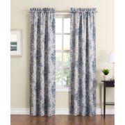 No. 918 Emilia Room-Darkening Curtain Panels, Set of 2, Stone