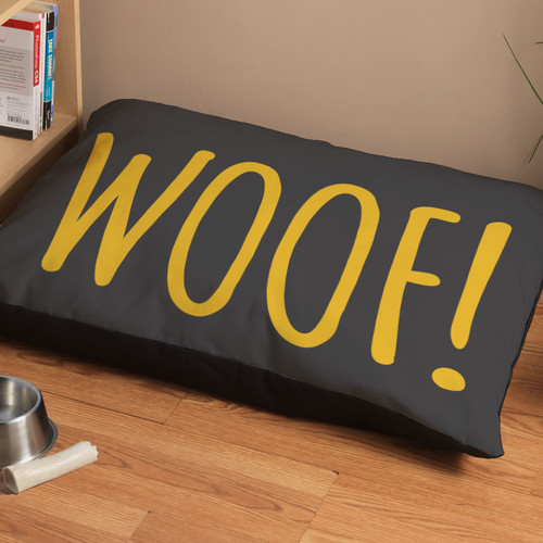 Checkerboard, Ltd ''Woof!'' Dog Bed