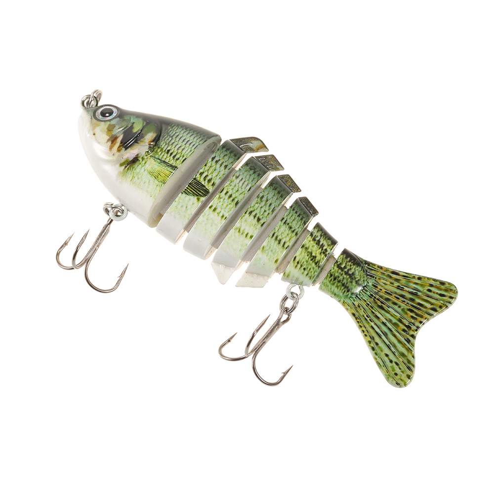 Kecar Dragonfly Fishing Lures Bionic Bait 3D Swimbaits Fishing Tackle Kits Lifelike for Trout Bass Perch Fishing Pike Snakehead Dogfish Musky Blue