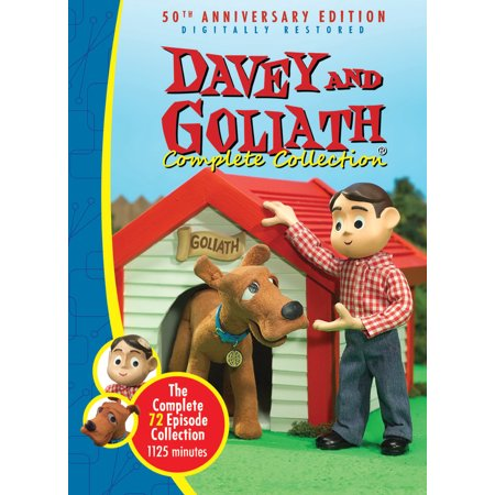 DVD-Davey & Goliath Complete Collection-72 Episodes- NEW