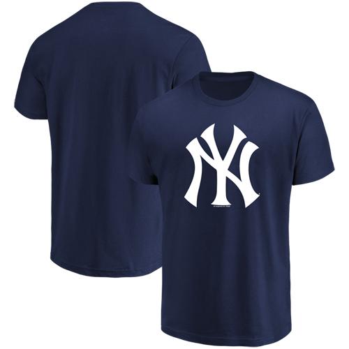 Men's Majestic Navy New York Yankees Top Ranking T-Shirt