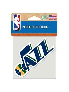 "Utah Jazz WinCraft 4"" x 4"" Color Perfect Cut Decal"