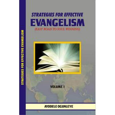Strategies For Effective Evangelism - eBook (Evangelism Ideas For Halloween)