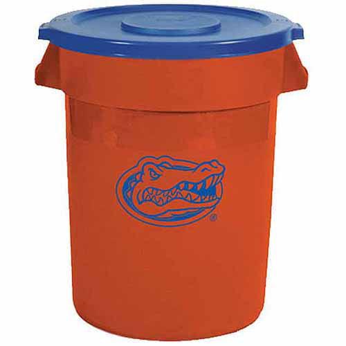 Rubbermaid 32-Gallon Florida Gators Trash Can