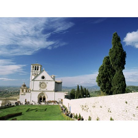 Basilica Di San Francesco, Where the Body of St. Francis was Placed in 1230, Assisi, Umbria Print Wall Art By Sergio