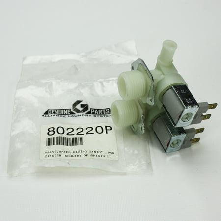 802220P For Speed Queen Washing Machine Water Inlet Valve ()